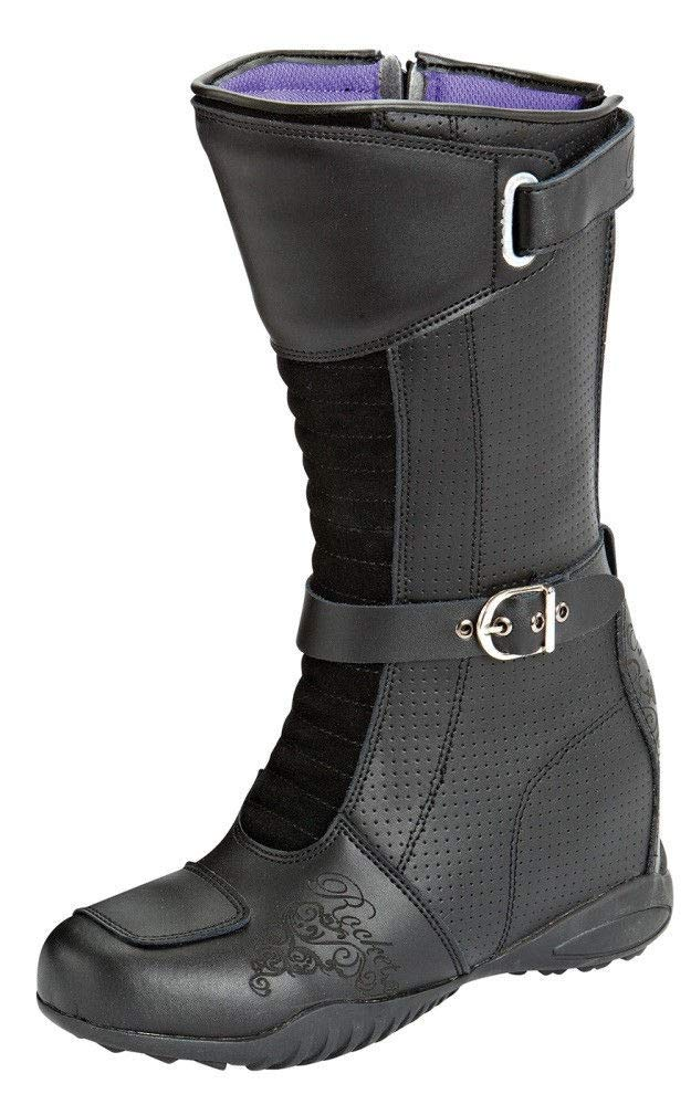 Joe Rocket Heartbreaker Women's Boots (Black, Size 8)