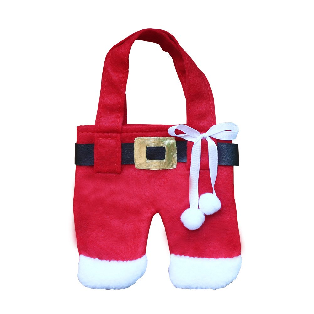 Christmas Decorations Restaurant Hotel Layout Christmas Knife And Fork Sets Of Creative Christmas Clothes Cutlery Sets Medium pants