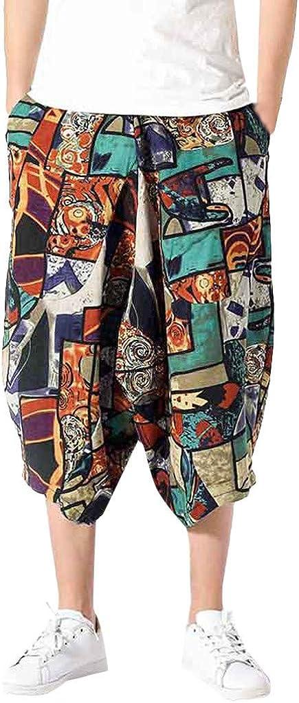 wodceeke Women Cotton Linen Summer Short Pants Elastic Waist Pocket Casual Shorts Lounge Walking Shorts