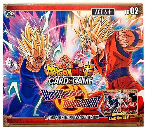 2018 Dragon Ball Super World Martial Arts Tournament Themed Booster Box - 24 Packs