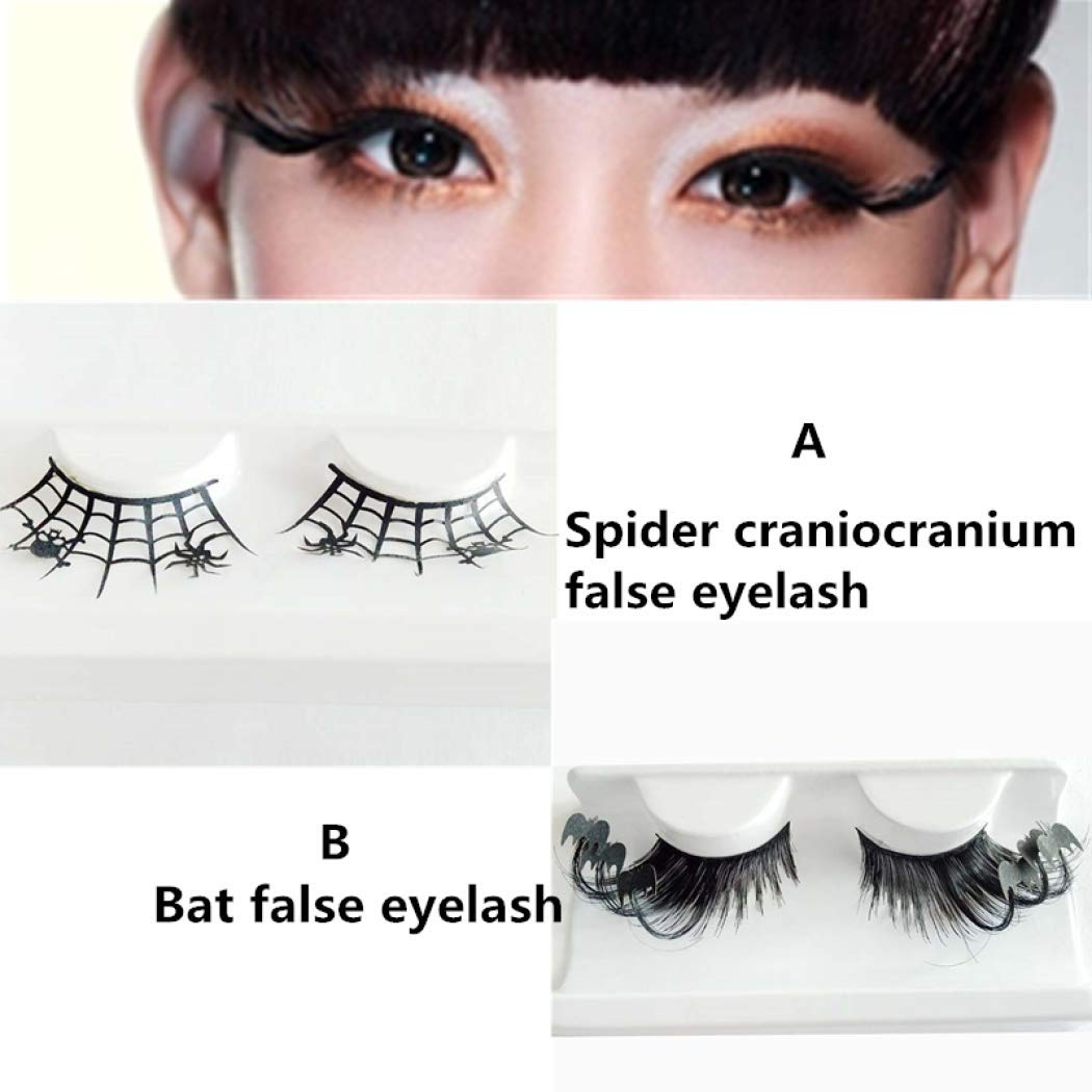 Amazon Black Bats False Eyelashes Fluffy Longer Thick Soft