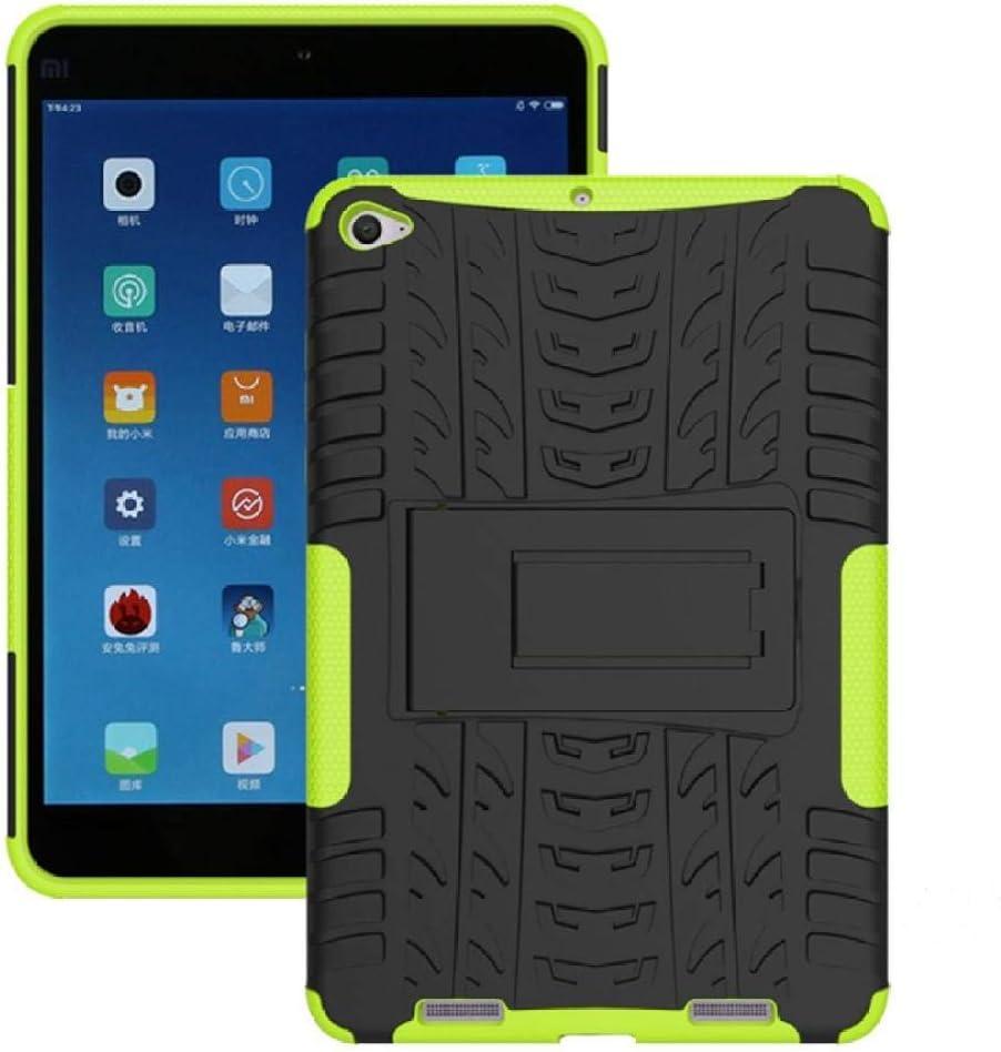 Funda Resistente híbrida 2 en 1 de Alta Resistencia para Xiaomi Mipad 2 Cubierta para MiPad 3 7.9 Mipad3 mipad2 Tablet Funda a Prueba de Golpes-Verde