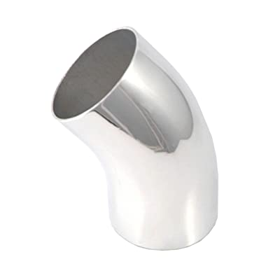 "Spectre Performance 9249 2.5"" 45° Aluminum Elbow: Automotive"