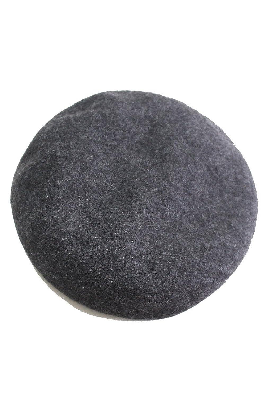 Amazon | ベレー帽 ベレー フェルト フェルトベレー レディース 帽子 ウール Fサイズ ダーク杢グレー(09) | ベレー帽 通販