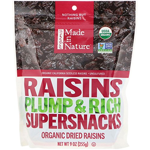Made in Nature Raisins, 9 oz by Made In Nature