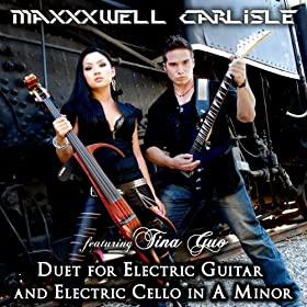 duet for electric guitar and electric cello in a minor feat tina guo maxxxwell. Black Bedroom Furniture Sets. Home Design Ideas