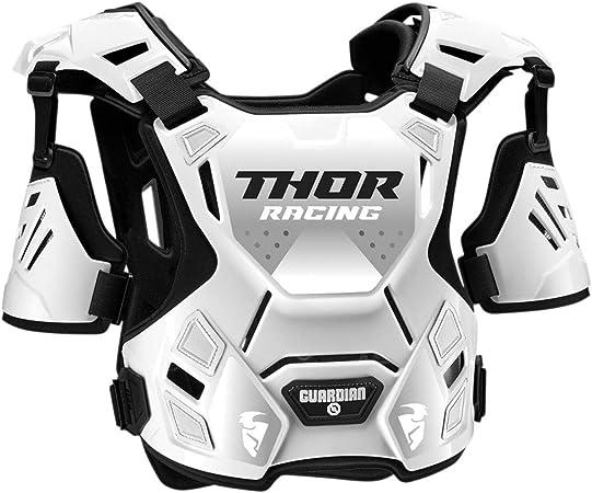 Thor Brustpanzer Guardian Roost Deflector Weiß Gr M L Sport Freizeit