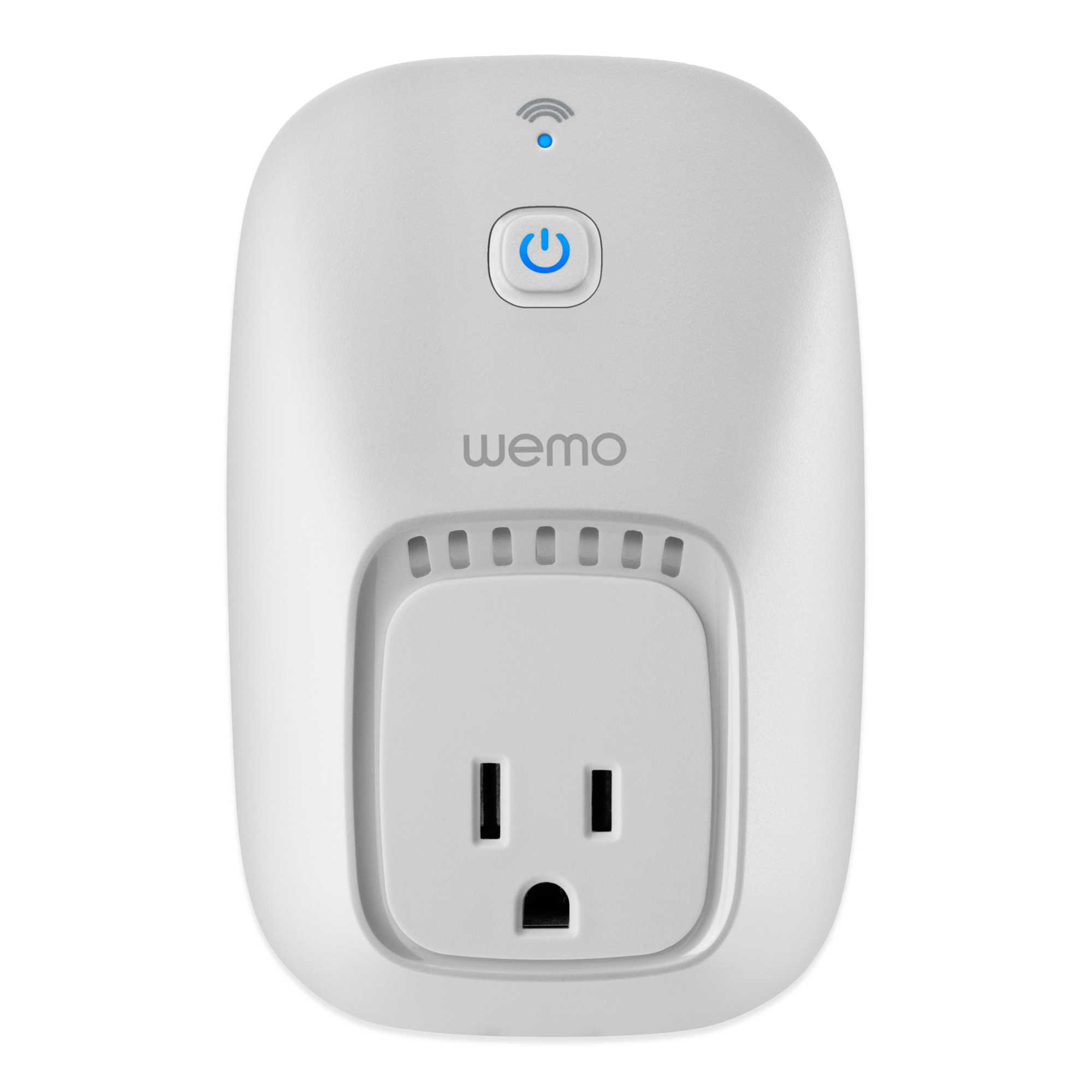 Wemo Smart Plug, Wi-Fi Enabled (Certified Refurbished)