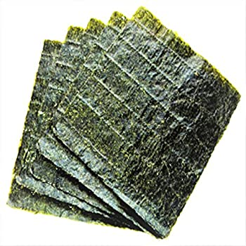 Amazon Com Aquatic Foods Inc Afi Nori 4 X 7 5 Seaweed Sheets