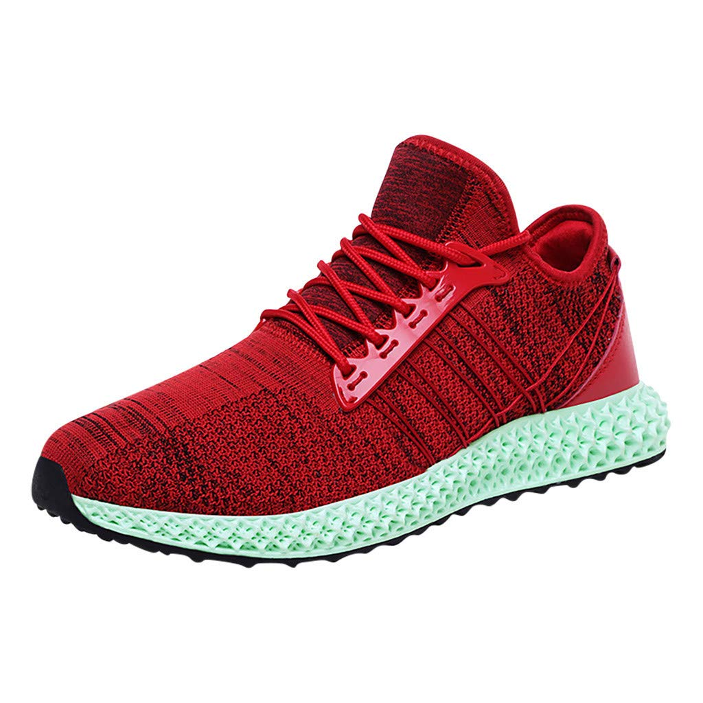 Amazon.com: refulgence Mens Running Sports Shoes Flyknit Fashion Casual Sneakers: Clothing
