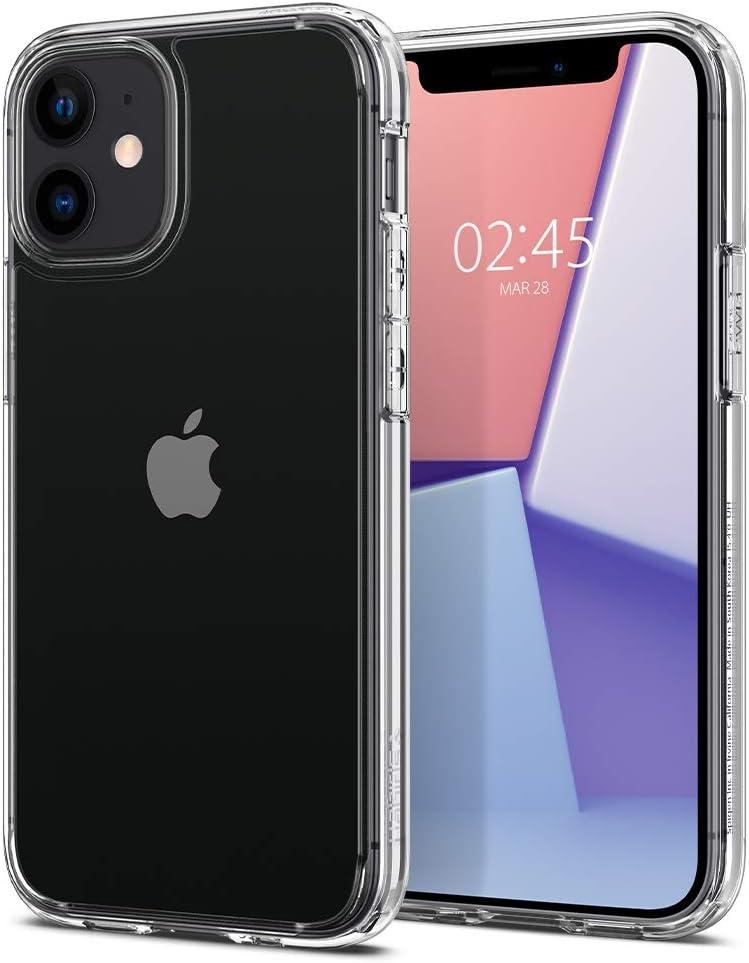 funda para iphone 12/12 pro Spigen Ultra Hybrid clear