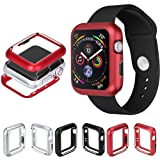 For Apple Watch Series 4 40mm/44mm Protective Cover TLT Retail Magnetic Frame Watch Case with Shock-proof and Full Cover Compatible Apple Watch iWatch Series 4 40mm/44mm