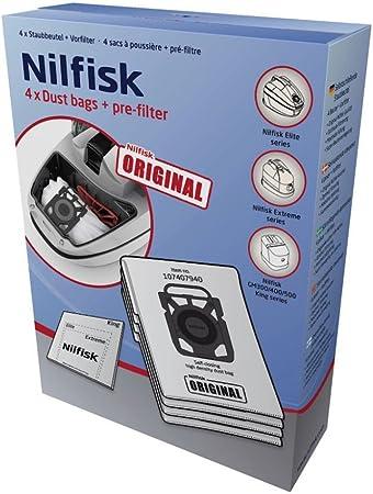 Nilfisk 2681045118 accesorio de aspiradora, bolsas de aspiradora: Amazon.es: Hogar