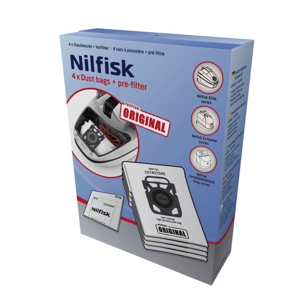 Nilfisk 2681045118 accesorio de aspiradora, bolsas de aspiradora