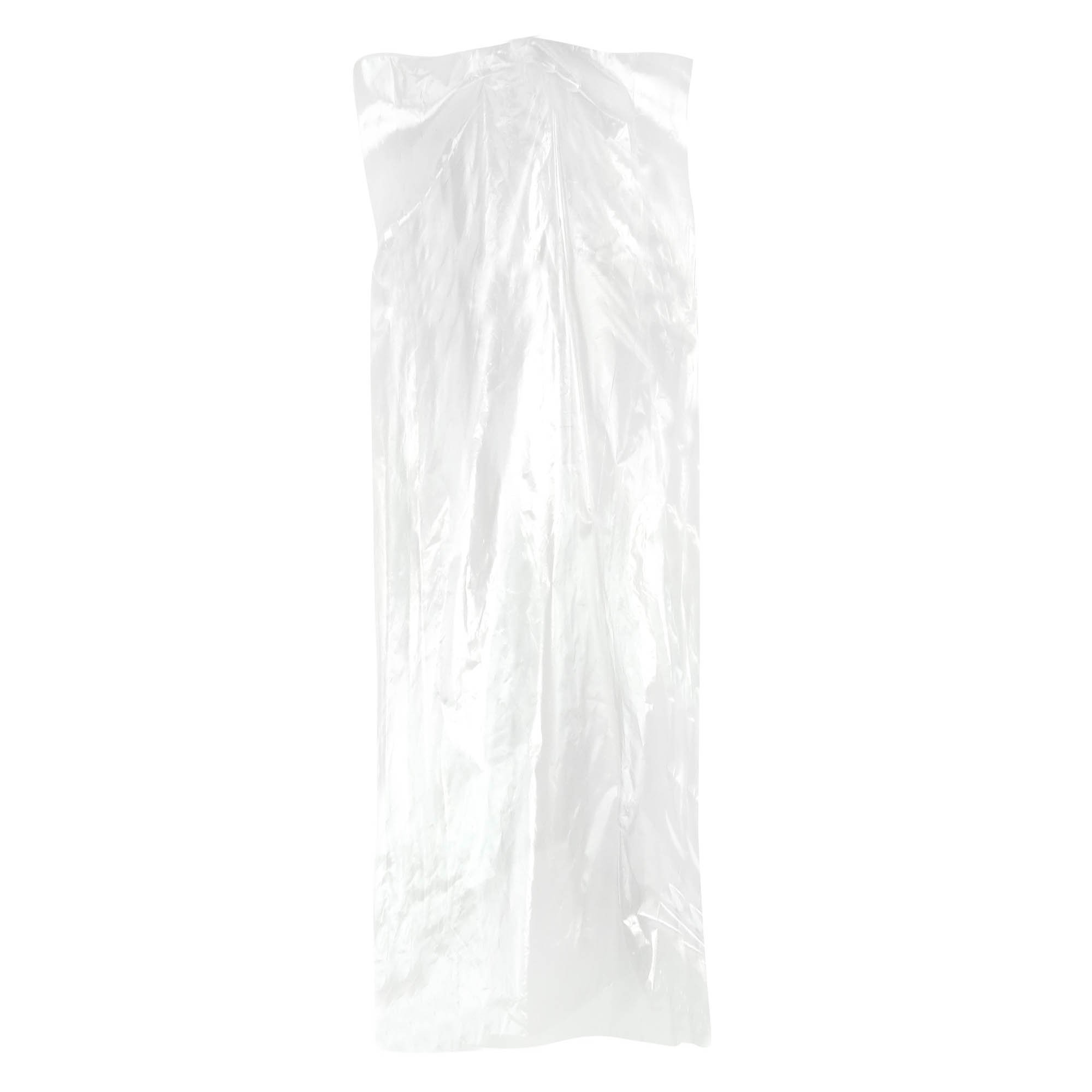 Hangerworld Pack of 20 Clear Polythene Garment Covers - 72 Inches - Ideal Length for Full-Length Pants, Skirts etc. by HANGERWORLD (Image #4)