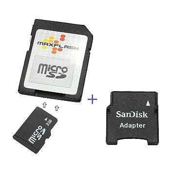 Tarjeta de memoria 2GB, Micro SD adaptador mini SD incluido para ...