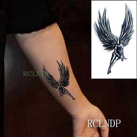tzxdbh Etiqueta engomada del Tatuaje a Prueba de Agua geometría Lobo Totem Tatto Pegatinas Tatuajes Tatuajes Mano Brazo pie para Hombres Mujeres Chica en Tatuajes de G Black: Amazon.es: Hogar
