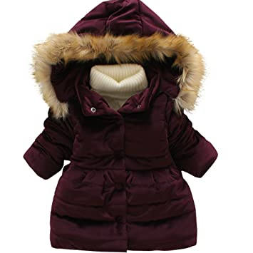 a952c5b35465 Hot Sale !!! Vovotrade® New baby Girls Winter Thick Warm Hoodied ...