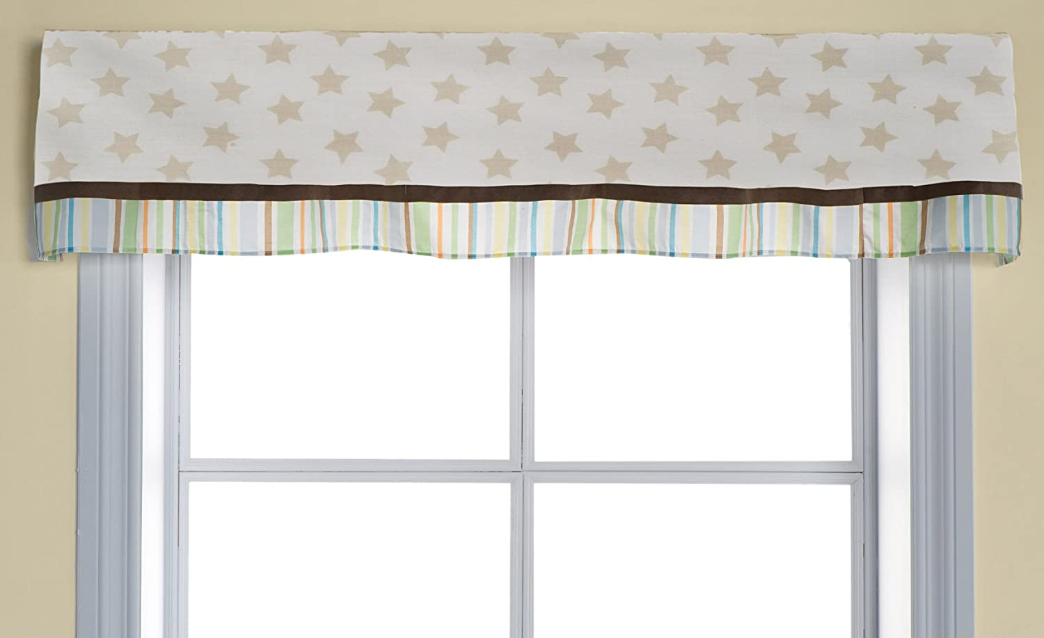 Kids Line CA6115V Valance, Night Night Bugs
