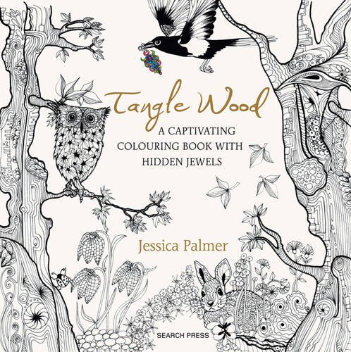Tangle Wood: A Captivating Colouring Book with Hidden Jewels ...