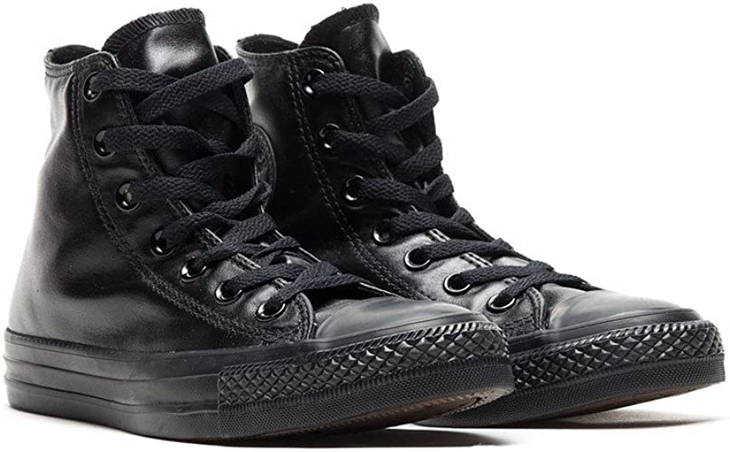 Converse Womens Chuck Taylor All Star Hi Black Canvas