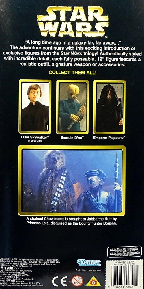Star Wars Collector Series Chewbacca Rebel Alliance Kenner