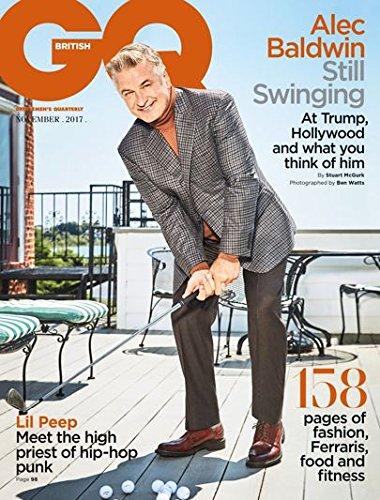 British GQ Magazine (November, 2017) Alec Baldwin Cover