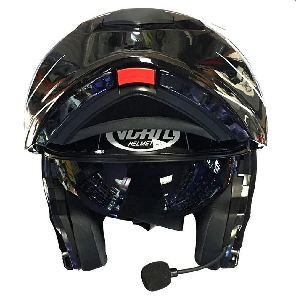 Oxford OF229 Alarm Motorbike Disc Lock Matt Black M VCAN V271 Blinc Bluetooth Flip up Motorbike Motorcycle Helmet 57-58cm