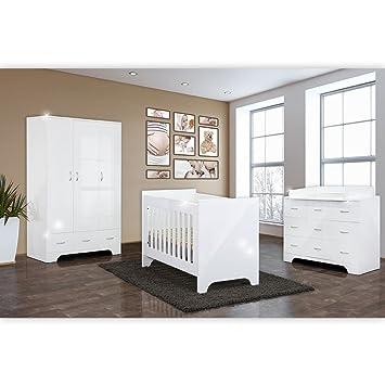 Babyzimmer Weiß Hochglanz
