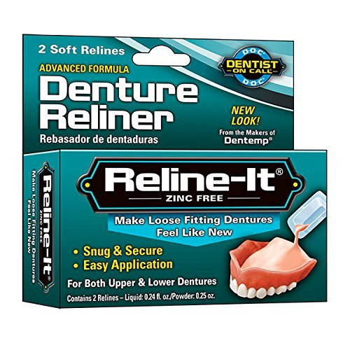 D.O.C. Reline-It Denture Reliner, Advanced, 2 ct. by Doc