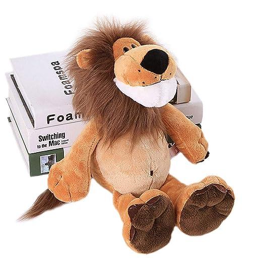 Catkoo Cartoon Lion Wild Animal Soft Plush Stuffed Doll Kids Toy ...