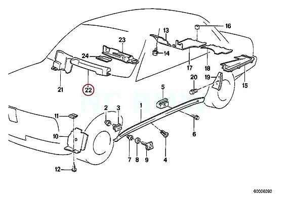 Amazon Com Bmw Genuine Covering Wire Harnes Engine Automotive