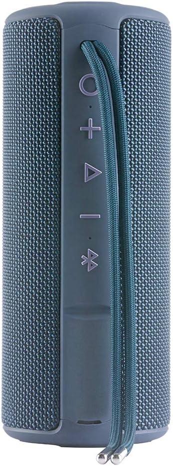 Vieta Pro Goody - Altavoz inalámbrico (True Wireless Bluetooth, Radio FM, Reproductor USB, auxiliar, micrófono integrado, resistencia al agua IPX6, batería de 12 horas) azul