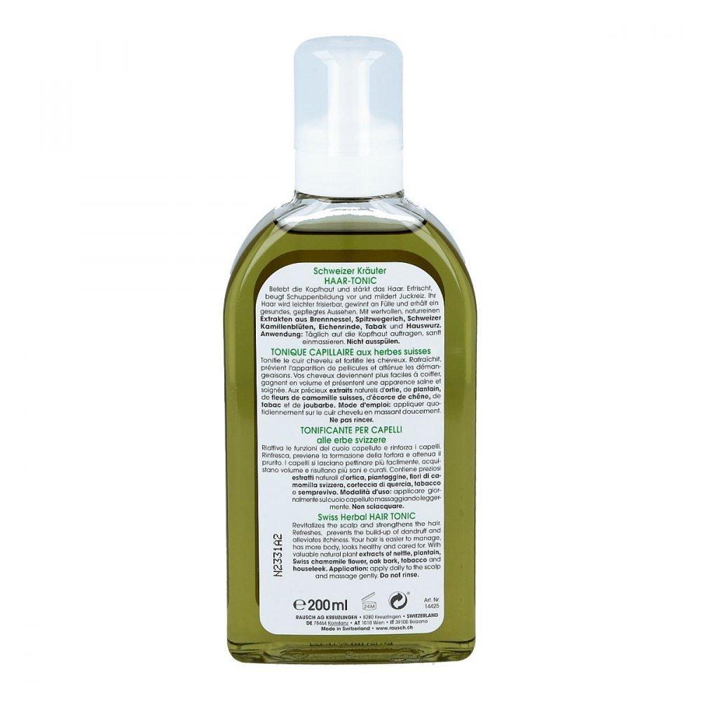 Rausch Swiss Herbal Hair Tonic 200 ml