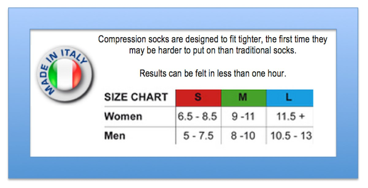 Travelsox Travel OTC Support Compression Recovery Dress Socks, TSD2000 Grey, Medium by Vitalsox