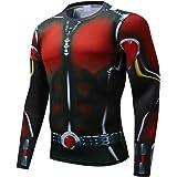 Super Hero Costume Compression T-Shirt Tight Cycling Clothes Sport T-Shirt