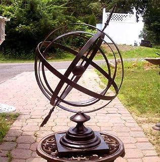 Amazoncom Sundial Cast Iron 24 Armillary Arrow Sphere Garden