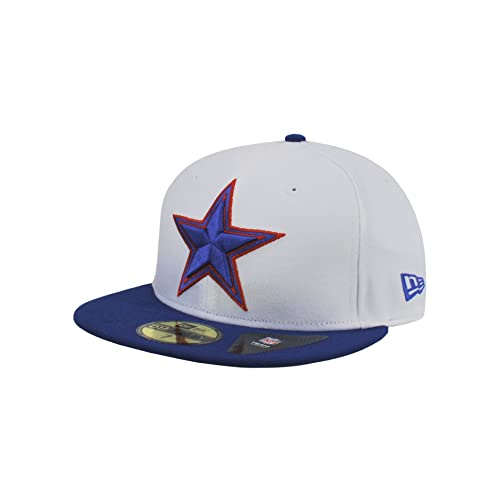 new arrivals cda7d 38567 ... best new era 59fifty hat dallas cowboys dominican republic flag edition  white royal blue redux fitted