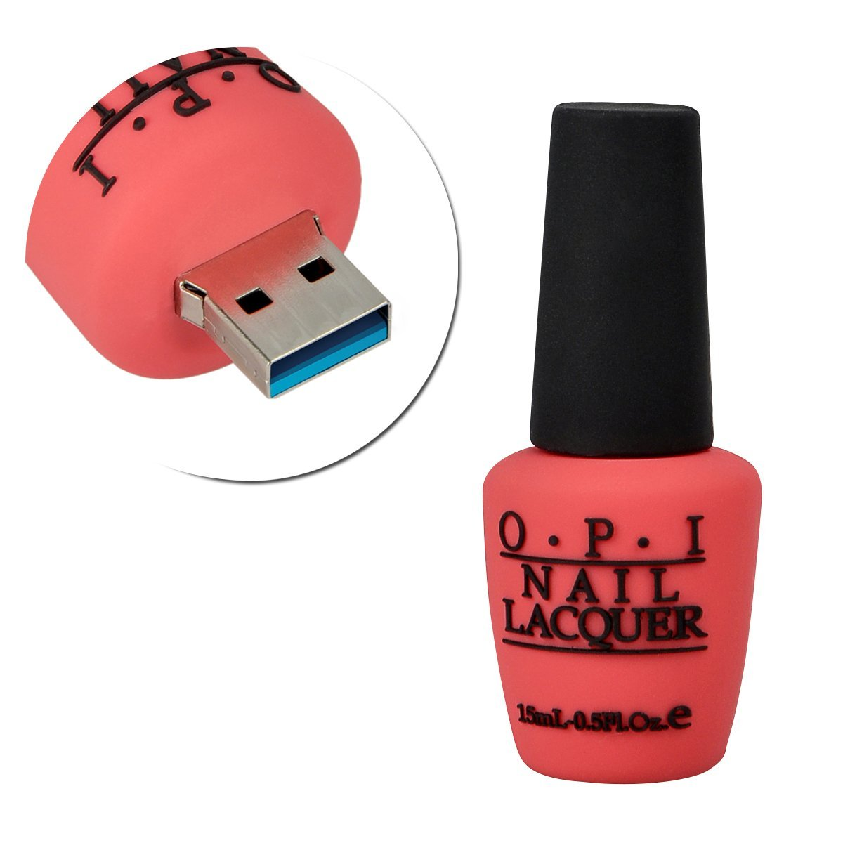 32GB USB 3.0 Nail Polish Bottle Flash Drive