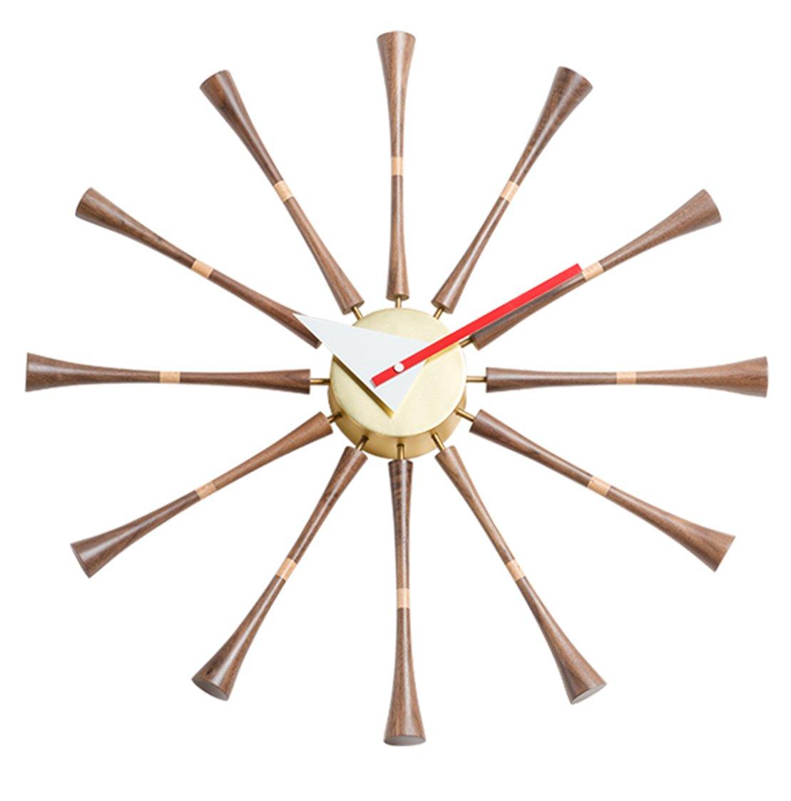 MLF®スピンドルクロック ジョージ ネルソン デザイナー壁時計 B01IT7ITEO スピンドルクロック スピンドルクロック