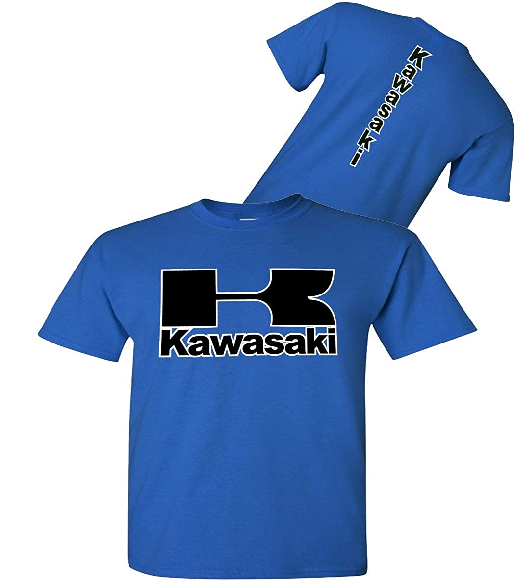 Kawasaki Shirt Kawasaki Motorcycle Royal Blue T-Shirt Streetbikes Dirtbikes Ninja ATV