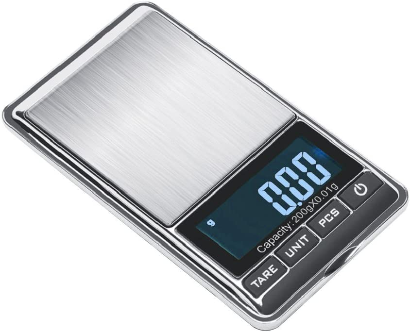 0.01g-200g/_LCD Digital Electronic Balance Jewelry Kitchen Scale Gold Food/_Weight