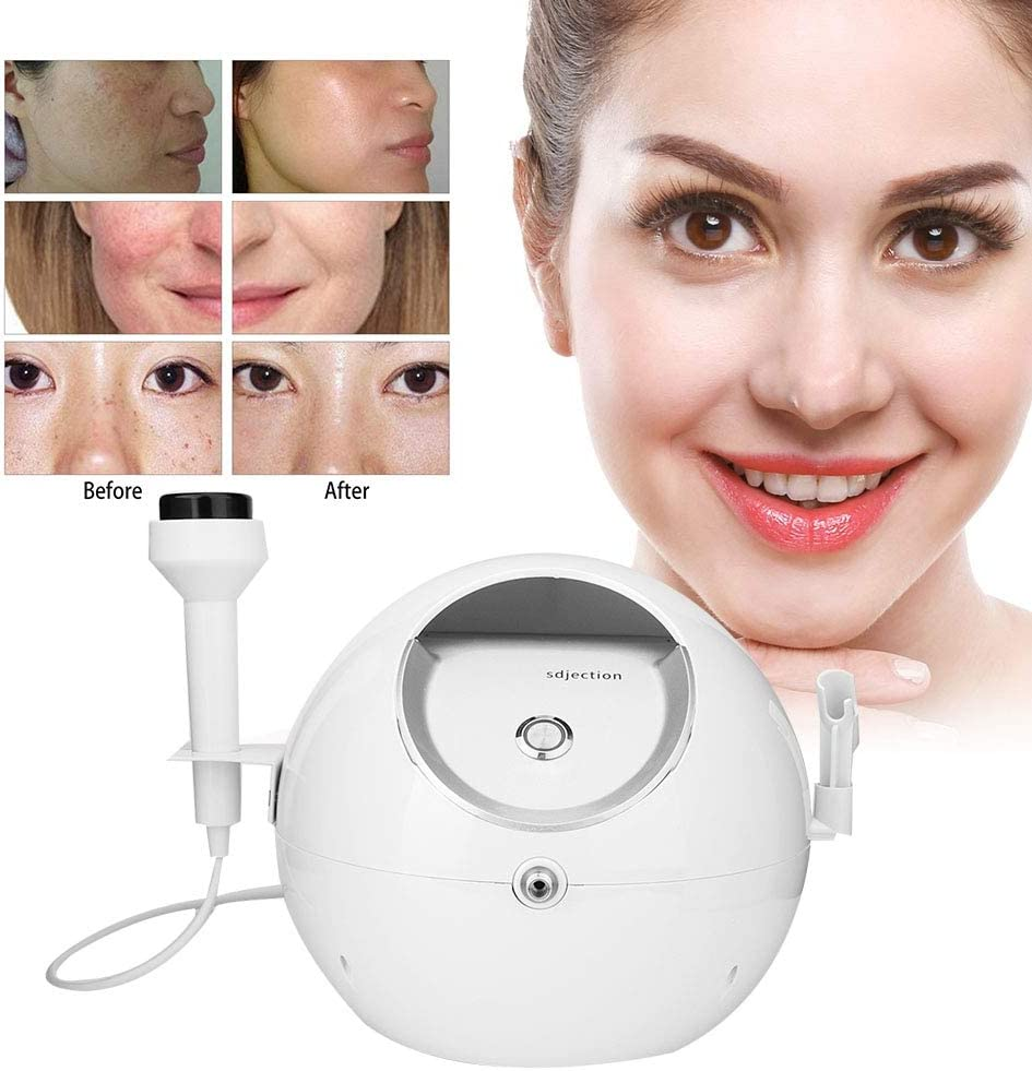 Vapores faciales, máquina de pulverización de instrumentos de belleza de oxígeno para uso facial limpio y dispositivo de belleza multifunción de salón de belleza(UE)
