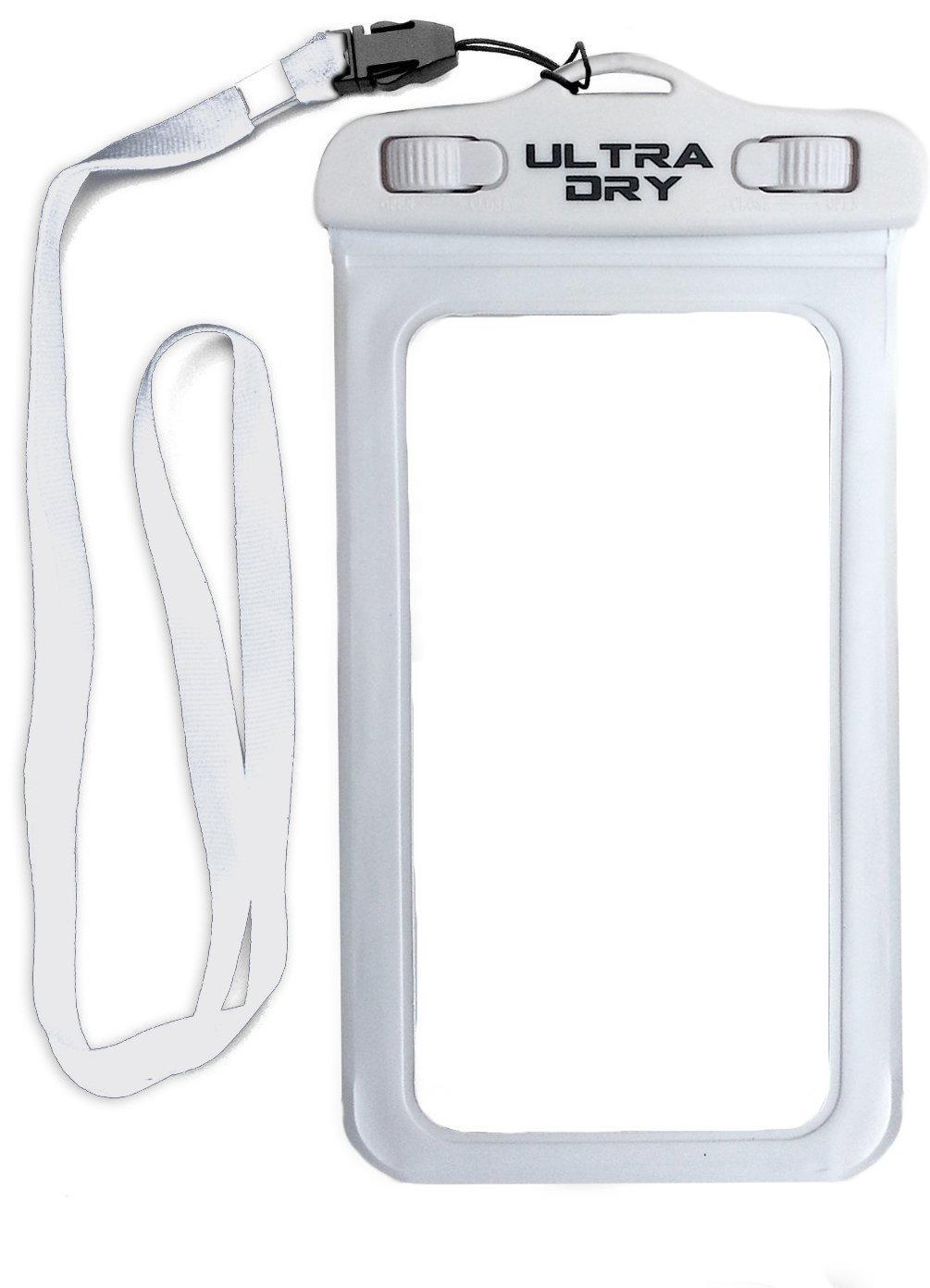 Premium Waterproof Phone Dry Bag White Phone case