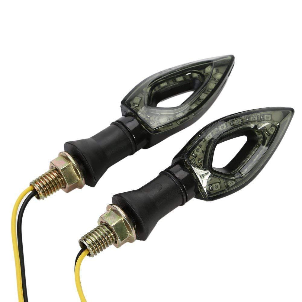 One Pair CICMOD Universal Motorcycle LED Indicators Turn Signal Light Blinker Marker for Yamaha R1 R6 FZ6 FZ1 FZ FJR Fazer XT WR TT-R
