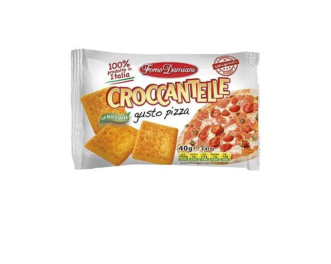Forno Damiani Aperitivo de Pan Pizza - Paquete de 25 x 40 gr - Total: