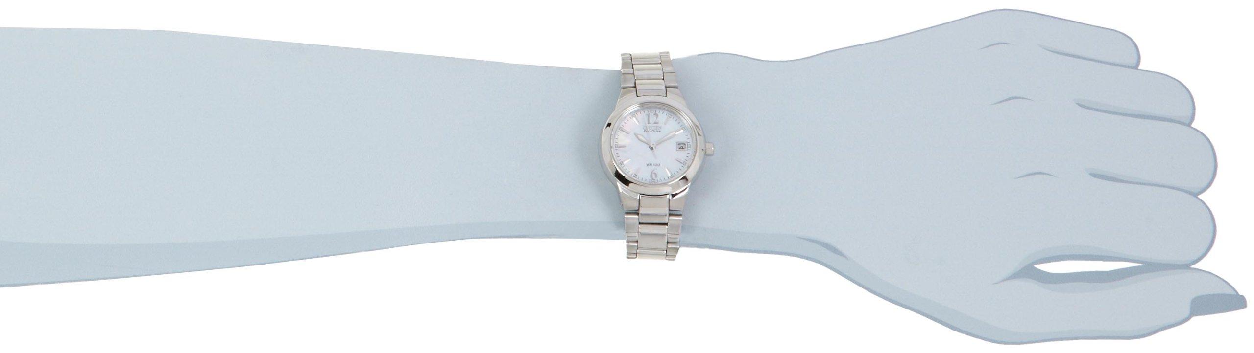 Citizen Women's EW1670-59D ''Silhouette'' Stainless Steel Eco-Drive Watch