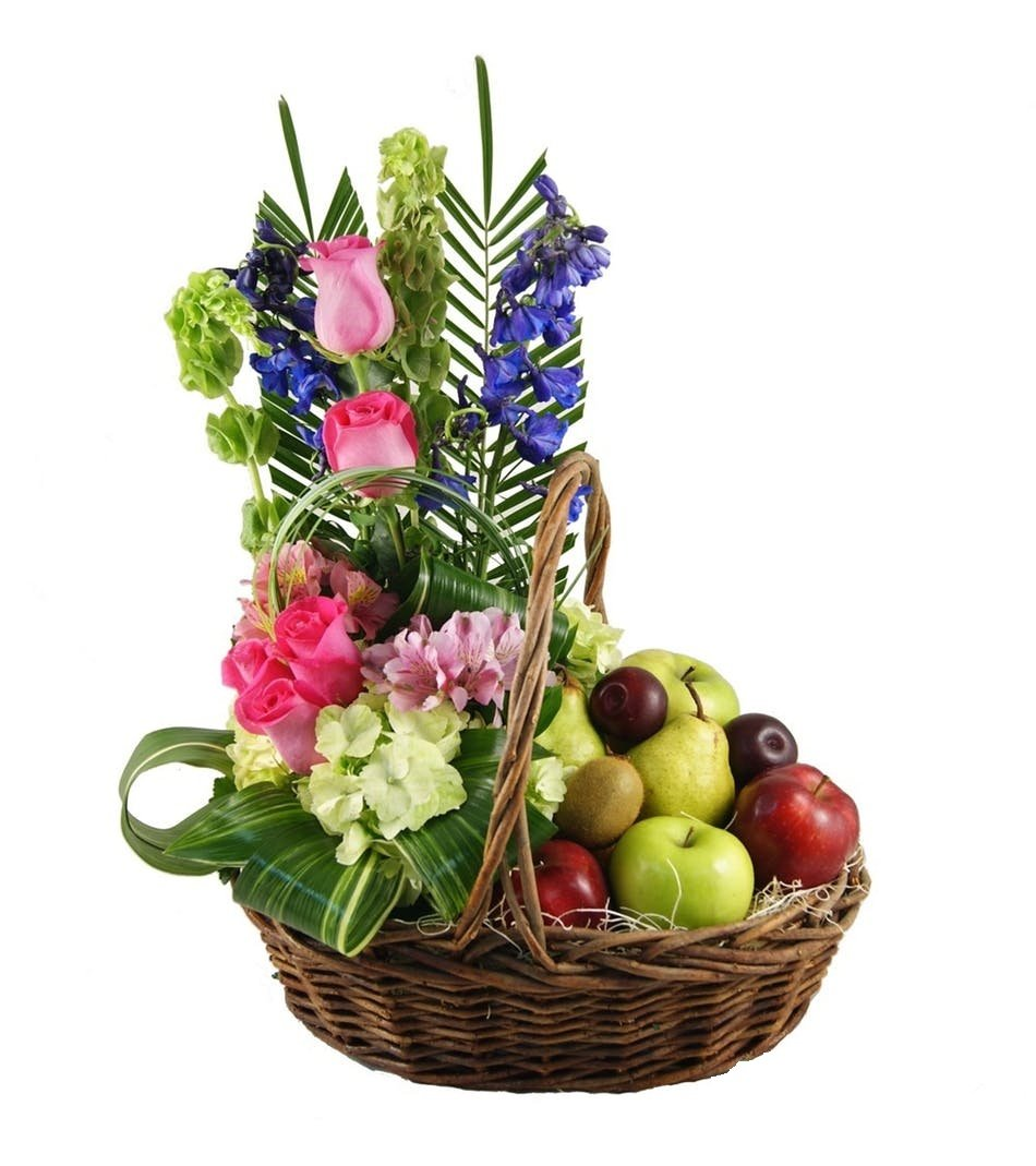 Fruit & Seasonal Flowers by Trias Flowers - Fresh and Hand Delivered - Miami Area