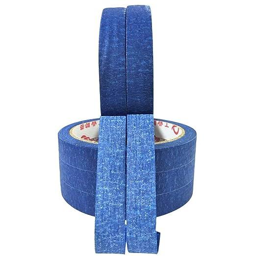 CHINAJIAODAI 1 rollo 30 m de cinta azul pintores que imprimen la ...