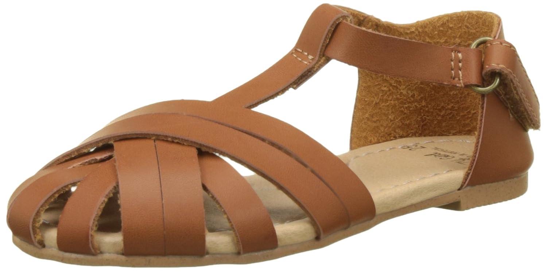 Zippy Sandals Strappy, Spartiates Fille Marron (Brown ZGS04_430_3) 25 EU